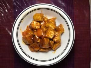 Platefuloffun.com Sweet and Sour Tofu