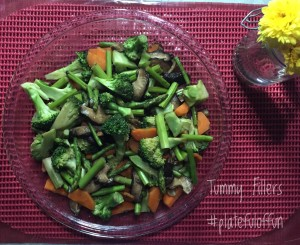 Stir-Fried Vegetables with Mushroom