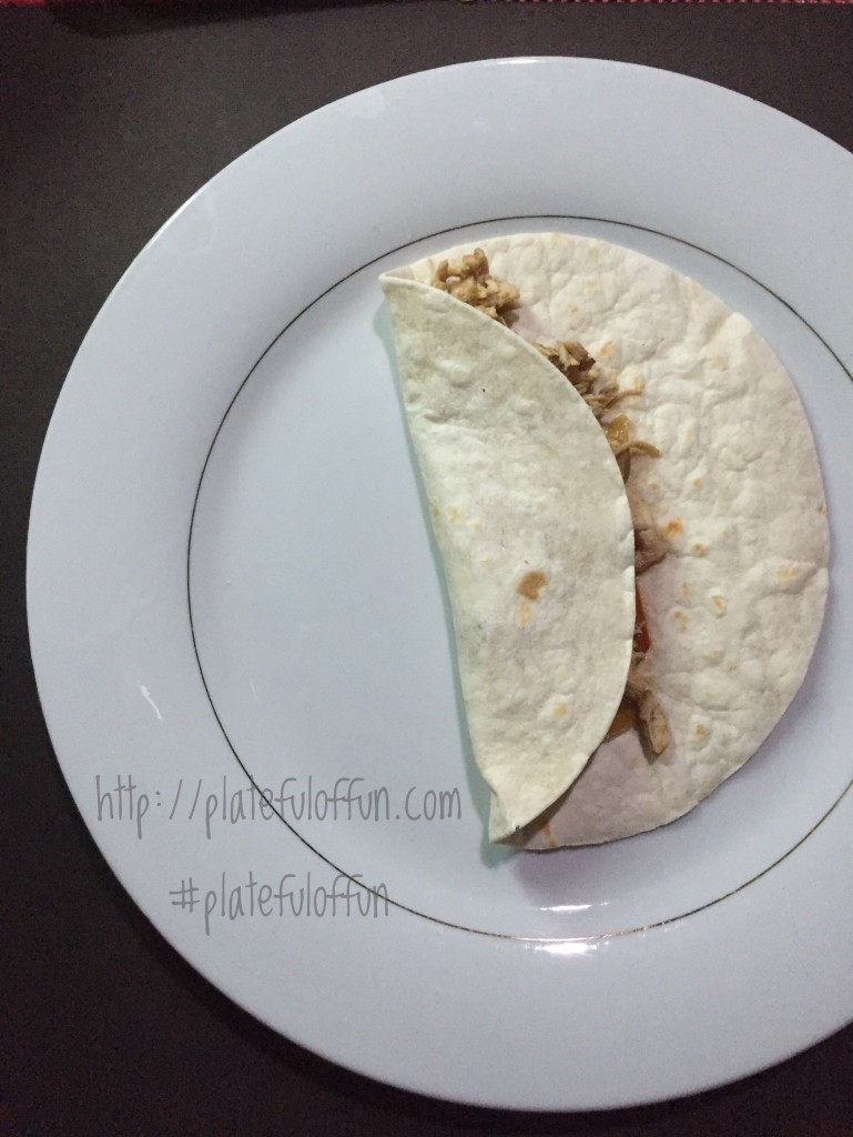 http://platefulfoffun.com Slowcooked Chicken Fajitas