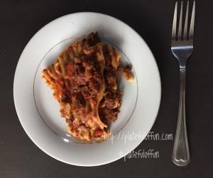 http://platefuloffun.com Slow Cooker Lasagna