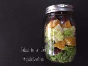 http://platefuloffun.com Salad in a Jar