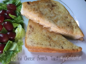 Grilled Cheese French Toast Sandwich
